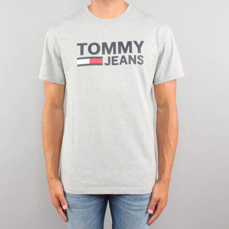 Tommy Jeans Dm0Dm04837 TJM Tommy Classic T Shirt AND Tank Men Black Iris